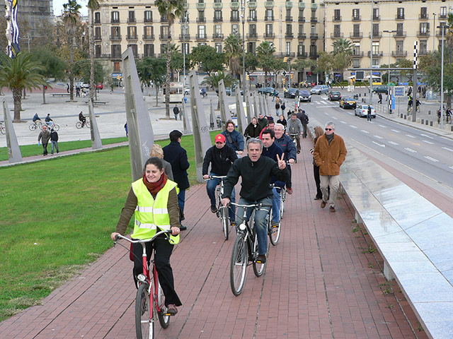 Sleep Green Barcelona Bike Tour Ticket